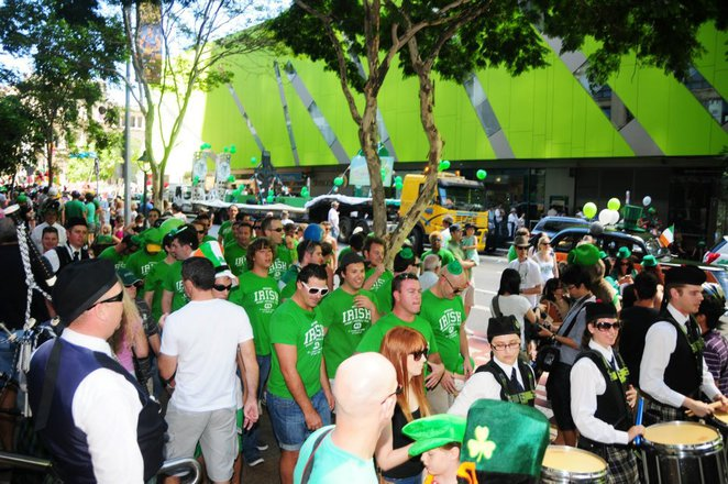 Brisbane 25th Annual St Patrick's Day Parade