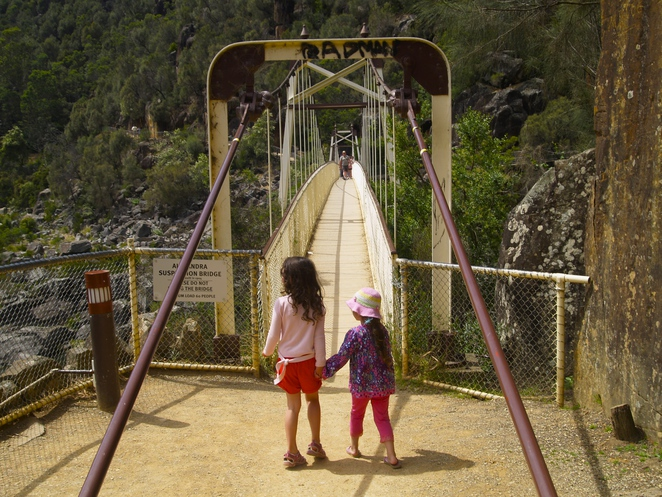 Cataract Gorge, Launceston, Tasmania, best things to do and see with kids