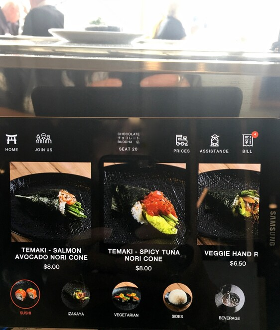 chocolate buddha, japanese restaurant, sushi train, federation square, melbourne cbd, date night, night life, sushi, sashimi, ala carte, chocolate buddha 2019 review, japanese eatery, japanese at federation square, christmas dinner, christmas lunch