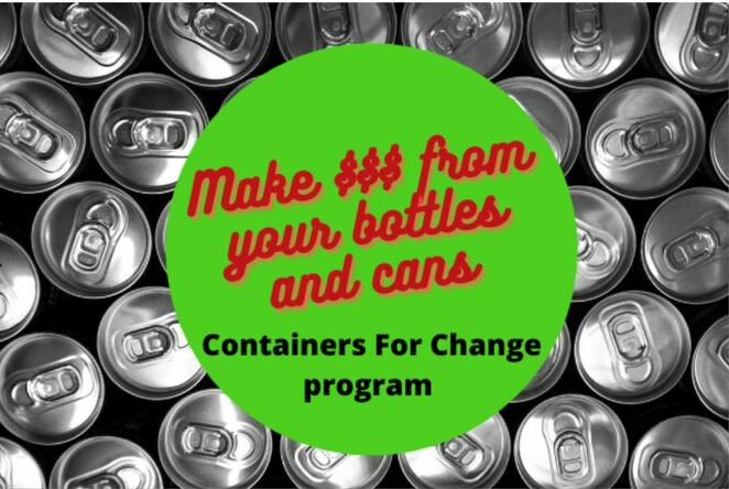 Containers for Change, container recycling