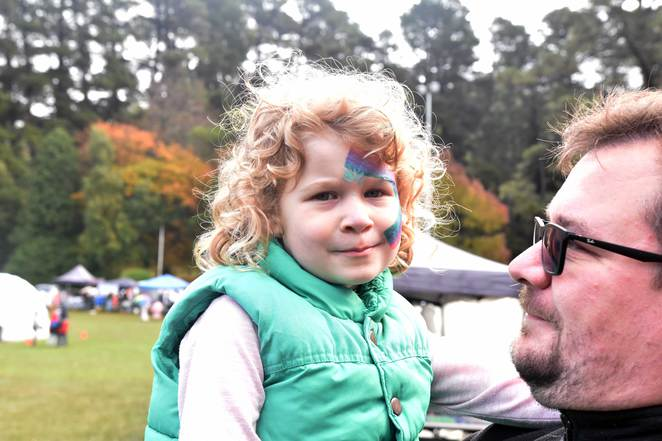 Face Painting at Kalorama Chestnut Festival