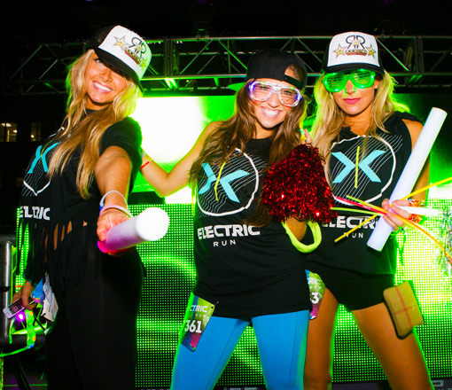 Electric Run event wear