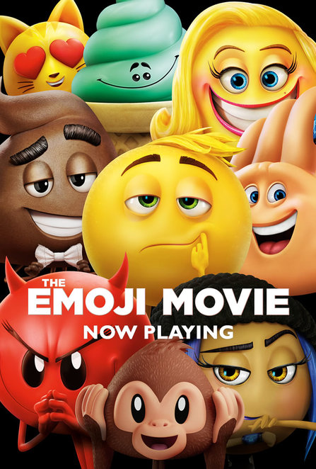 emoji movie, kids movies out now, 2017