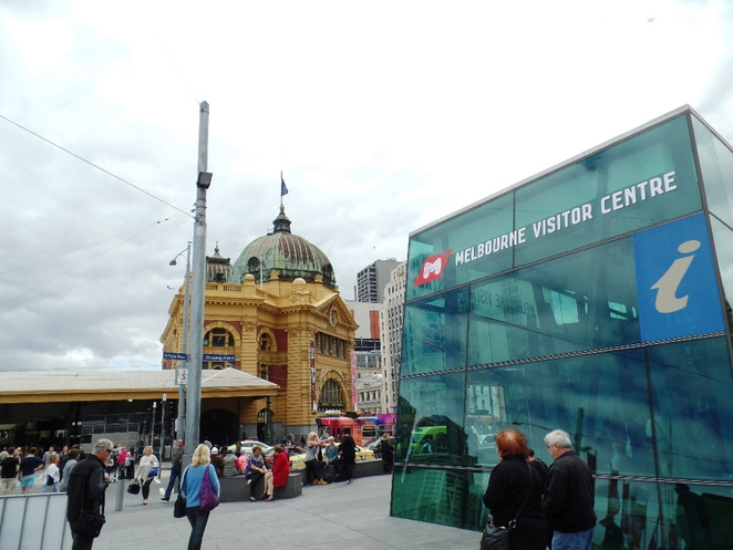 Federation Square and visitor centre