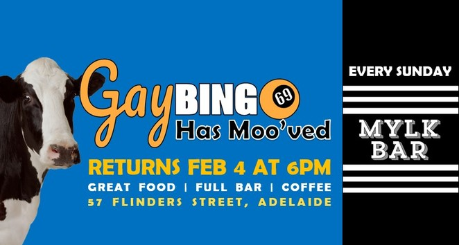 Gay Bingo, Queer Youth Drop In Centre, LGBTIQ, Feast, MYLK Bar