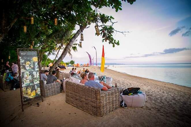 Genius Beach Cafe, Sanur