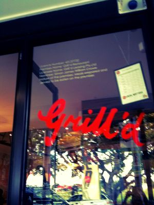 Grill'd Shop Front - Oxford Street Bulimba (Photo by Neels McGee)