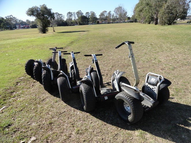 Hire a segway in sydney, Mamre's Homestead segway rides; Segway in sydney, Segway fun