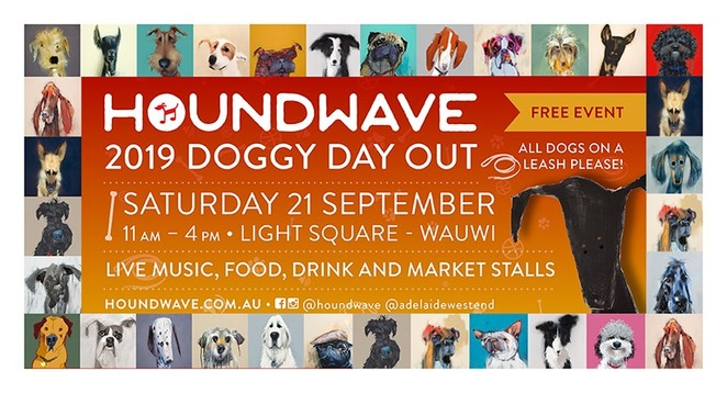 houndwave, live music, ask a vet, adelaidevet, dogs, pooches, puppies, puppy, light square, food, drink, market stalls, Katie pomery, Nathan may, ellie belle, ricky albeck, ryan martin john band, city of Adelaide, fat controller, Bendigo bank, rspca, awl, animal welfare league