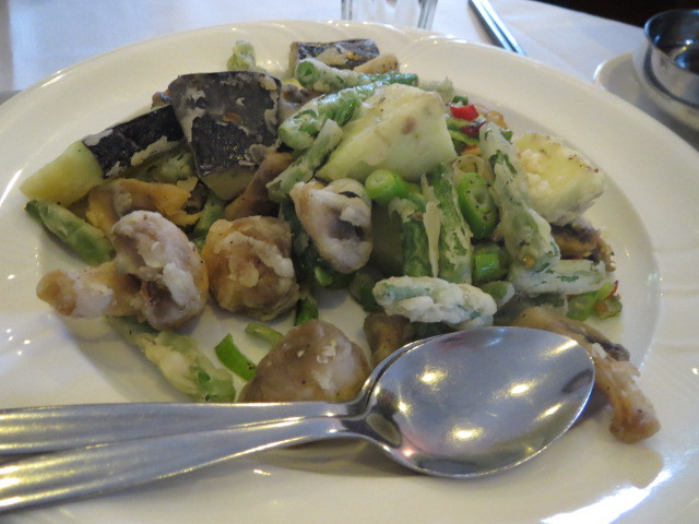 House of Chow Restaurant, Salt and Pepper Beans, Eggplant and Mushrooms, Adelaide