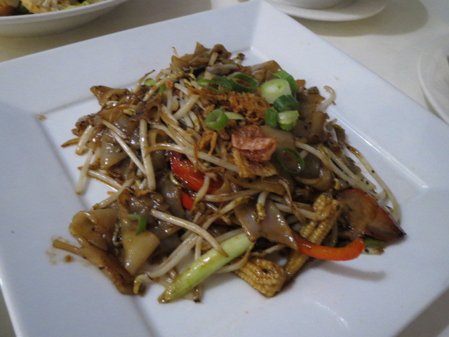 In Thais Cafe & Noodle Bar, Black Pepper Noodles, Adelaide