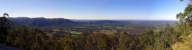 The view from Jolly's Lookout