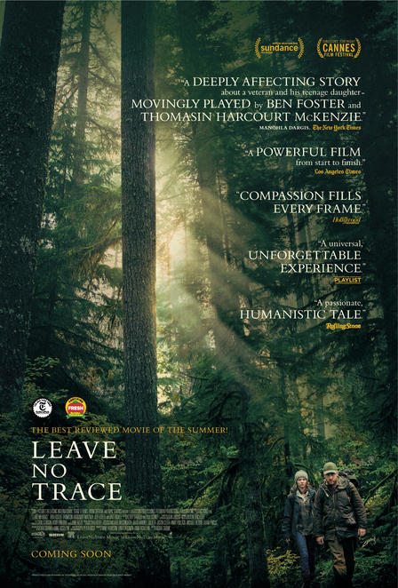 Leave No Trace, Leave No Trace film, Leave No Trace movie, Leave No Trace film review, Leave No Trace movie review, American movies, New releases, Coming attractions, Dramas