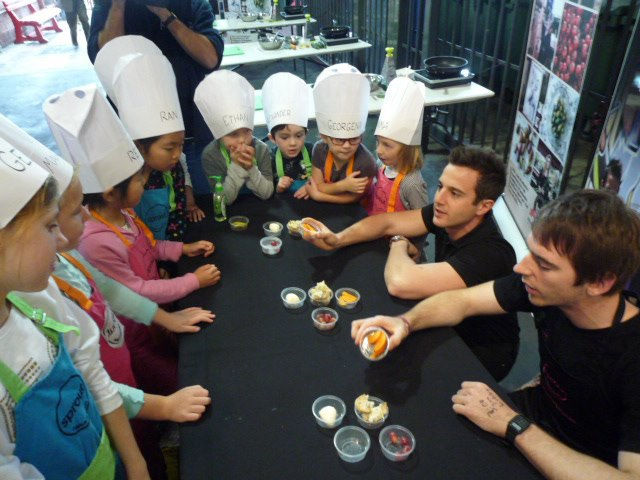 little market chefs, sprout cooking, adelaide central market, school holiday