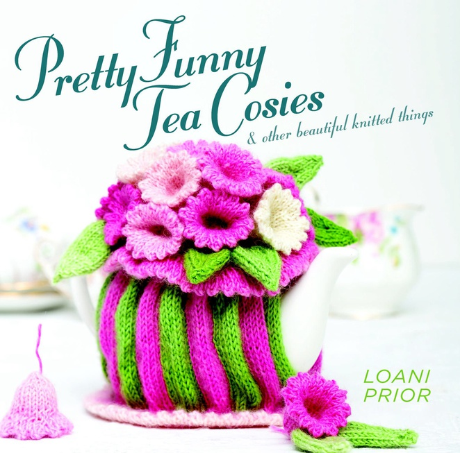 Loani Prior, Grand Purl Baa, Queen of the Tea Cosies, knitting, Ashgrove Library, author talk, Pretty Funny Tea Cosies