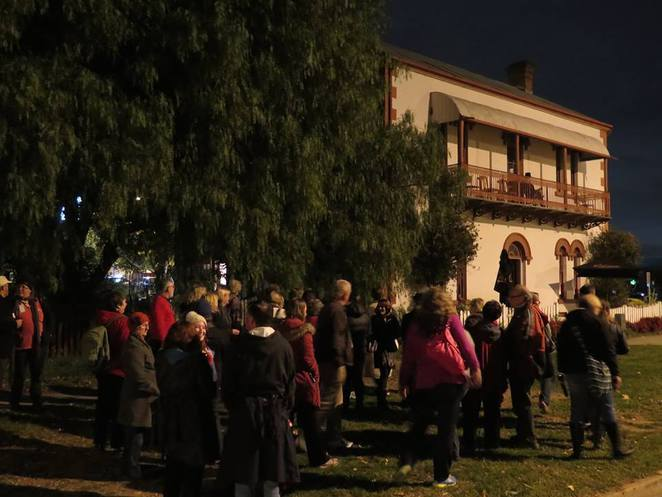 millhouse cafe, queanbeyan, queanbeyan mysetrious moonlight tours, ACT, NSW, ghost tours, halloween
