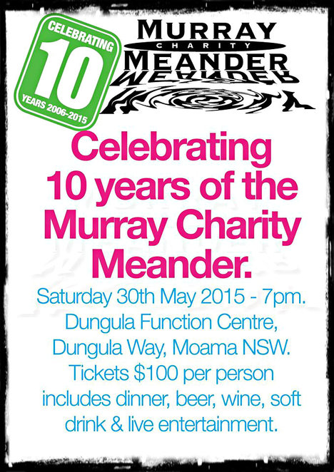 murray charity meander, murray meander, bringenbrong bridge, echuca moama, prostate cancer foundation, otis foundation, breast cancer