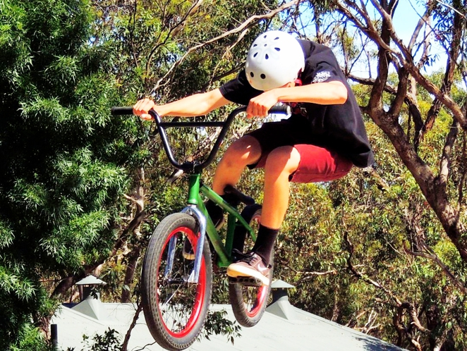 nature play, nature play in the park, fun things to do, free things to do, fun for kids, nature play sa, shepherds hill recreation park, bmx jumps