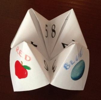 instructions to make a chatterbox