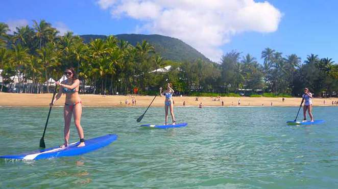 Palm Cove, Family Holidays, Beach Holiday, Sunrise, Tropical North Queensland, Great Barrier Reef, Stand Up Paddle Boarding