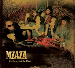 Parliament of the Birds, mzaza, EP, album, world music, folk music, Brisbane