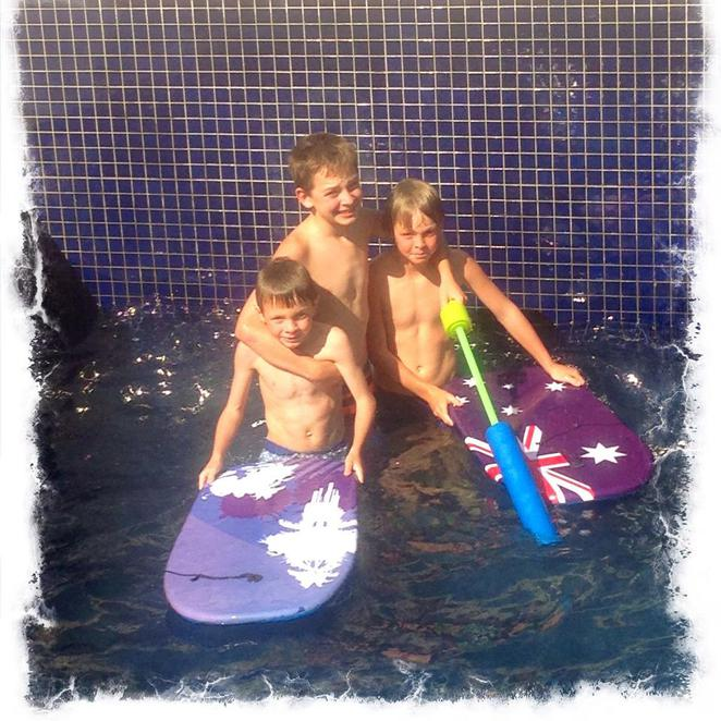 pool, pool time, fun, curriculum days, days off with kids