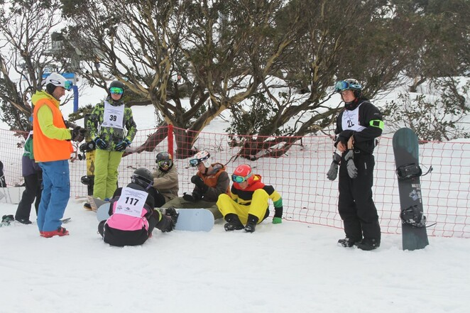 race to falls creek 2019, south australian snowsports association, snowboarding, community event, fun for kids, fun things to do, school aged children, saski, ssa interschools sowsport championships, skies, snowboarders, school holiday activities, slalom ski and snowboard racing, falls creek resort