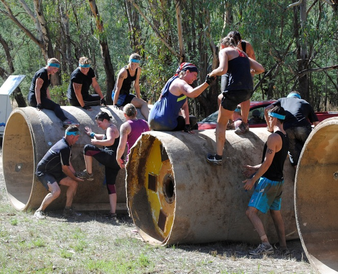 The Pipes, on the Obstacle Course