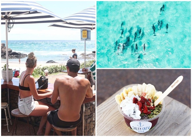 salty kiosk, port macquarie, best cafes, cafes with views, acai bowl, healthy, coffee, best coffee, cafes with views, town beach, beach views, breakwall, coastal walk, running path, cycle path, breakfast, lunch, cafe,