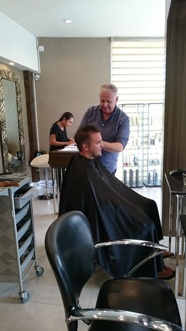 Spoiled,hair,hairdresser,bali,umalas,best,blonde,cut,colour,color,style