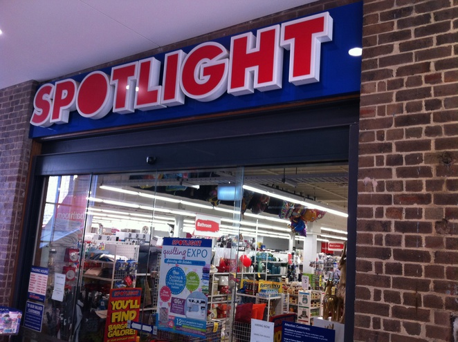 Spotlight-shop front
