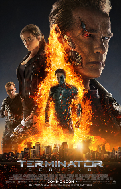 Terminator Genisys Promotional Poster