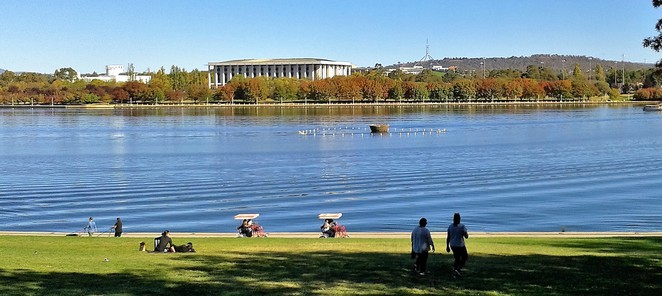 the deck, regatta point, canberra, best views, cafes, ACT, breakfast, lunch