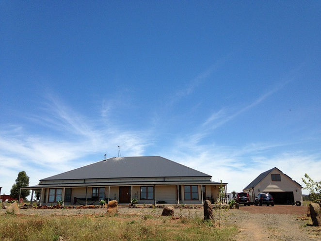The Off Grid Solar House in Little River