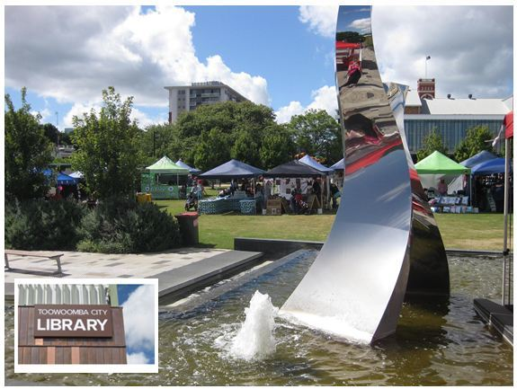 toowoomba,regional,library,green,fountain,eclectic,emporium