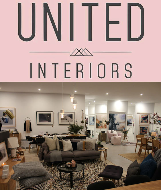 united interiors, grand opening, pop up warehouse sale, showroom, united artworks, the canvas workshop, art luxe, rugspace, the block, alisa and lysandra, the living room, james treble, basic habitat, dani wales, caroline khoo, nectar & stone, perk me up coffee carat, mikmax, shopping event, interior decorating, home decor