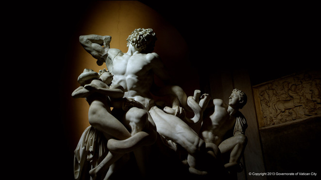 Vatican Museums 3D, Vatican Museums, Laocoon and his sons
