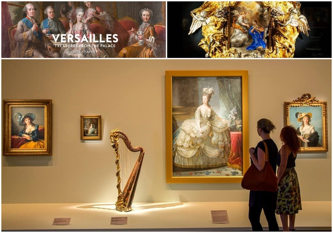 versailles, canberra, national gallery of australia, ACT, art, sculpture, exhibitions
