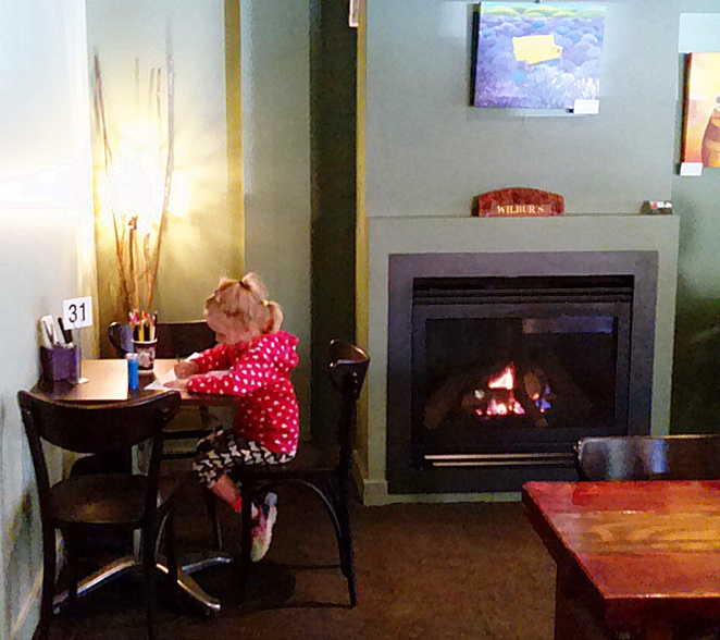 wilbers cafe and bar, hackett, canberra, north canberra, fireplaces, ACT, winter,