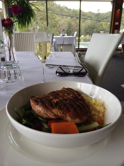 woronora, the bridge, restaurant, the shire, river, tuna, moroccan, cous cous, seasonal vegetables, lunch