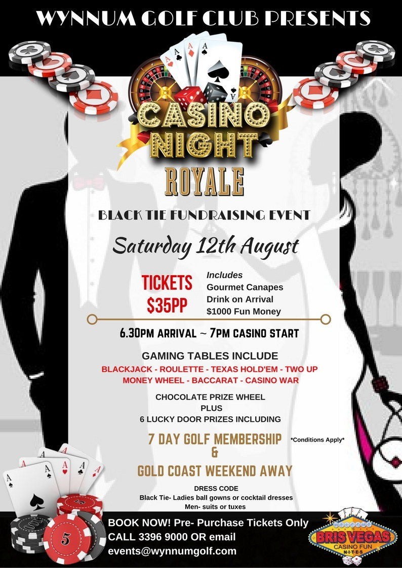 Country Club Casino Events