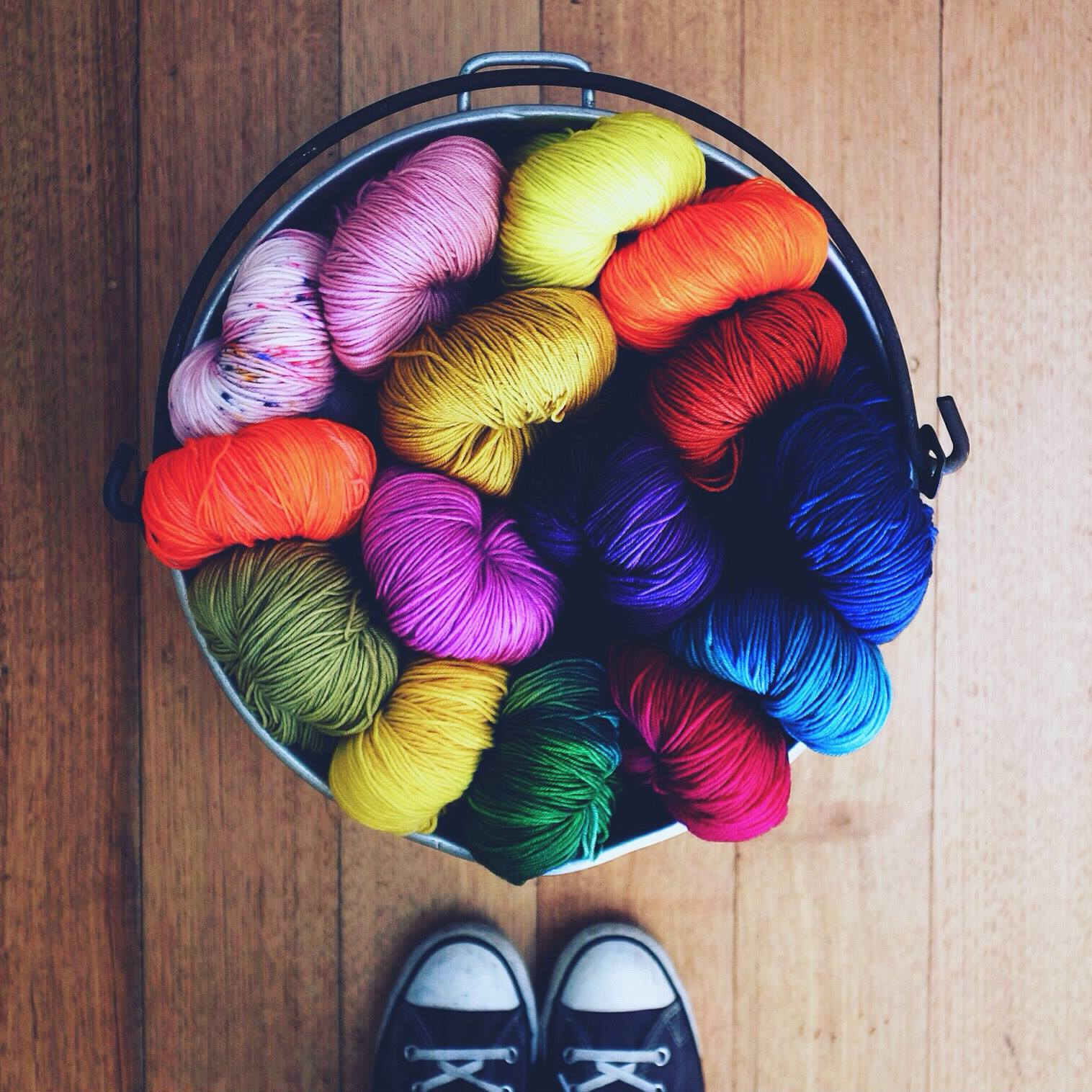 Yarn and craft market hand knitters guild victoria for Craft with woolen thread