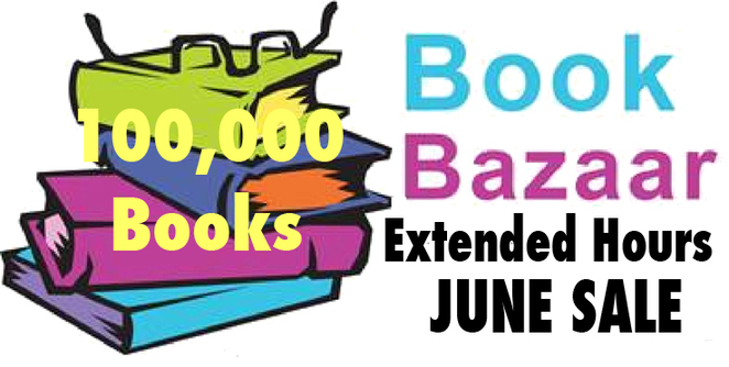 100,000 State Library books at Book Bazaar