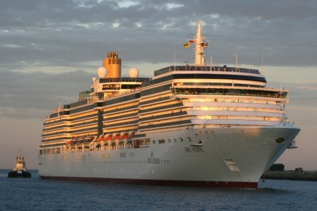 Luxury Cruise Ships In Fremantle Port  Perth