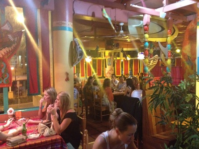 A busy night at Montezuma's Mooloolaba