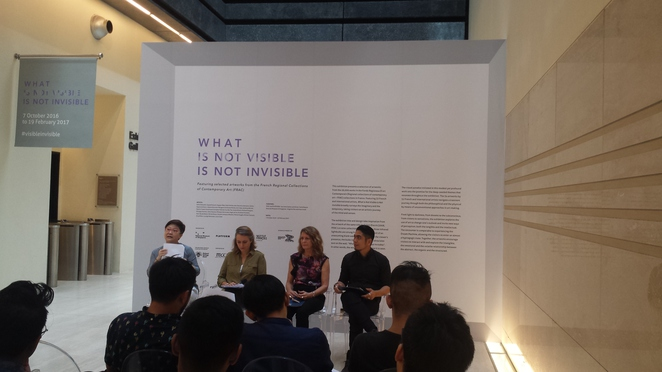 Angelita Teo, Iman Ismail, Laurence Gateau, Anne-Claire Duprat, FRAC, Platform France contemporary art, contemporary art, Jack Lang, National Museum of Singapore, what is visible is not invisible