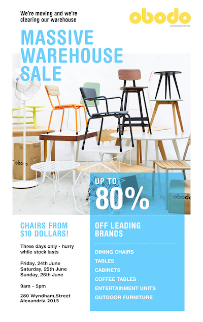 Etonnant OBODO Massive Designer Furniture Sale   Up To 80% Off