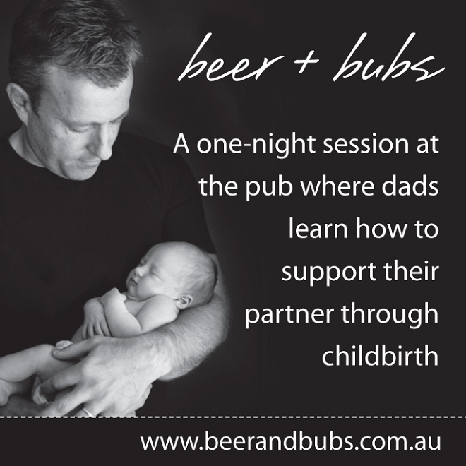 beer and bubs, parenting, new dads,