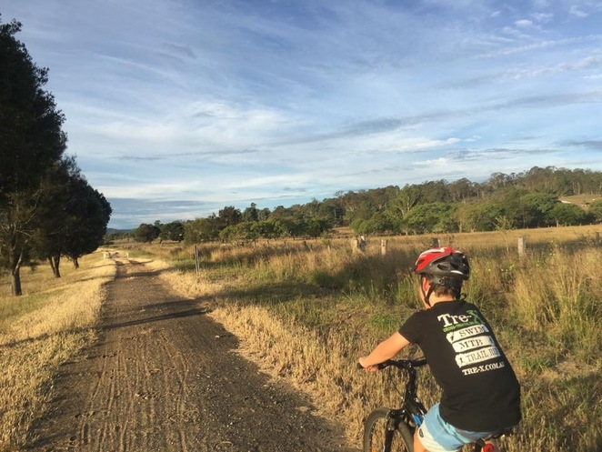 Easy cycling on the Brisbane Valley Rail Trail