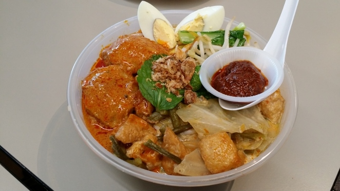 Chef Mom, Curry Chicken Laksa, Adelaide